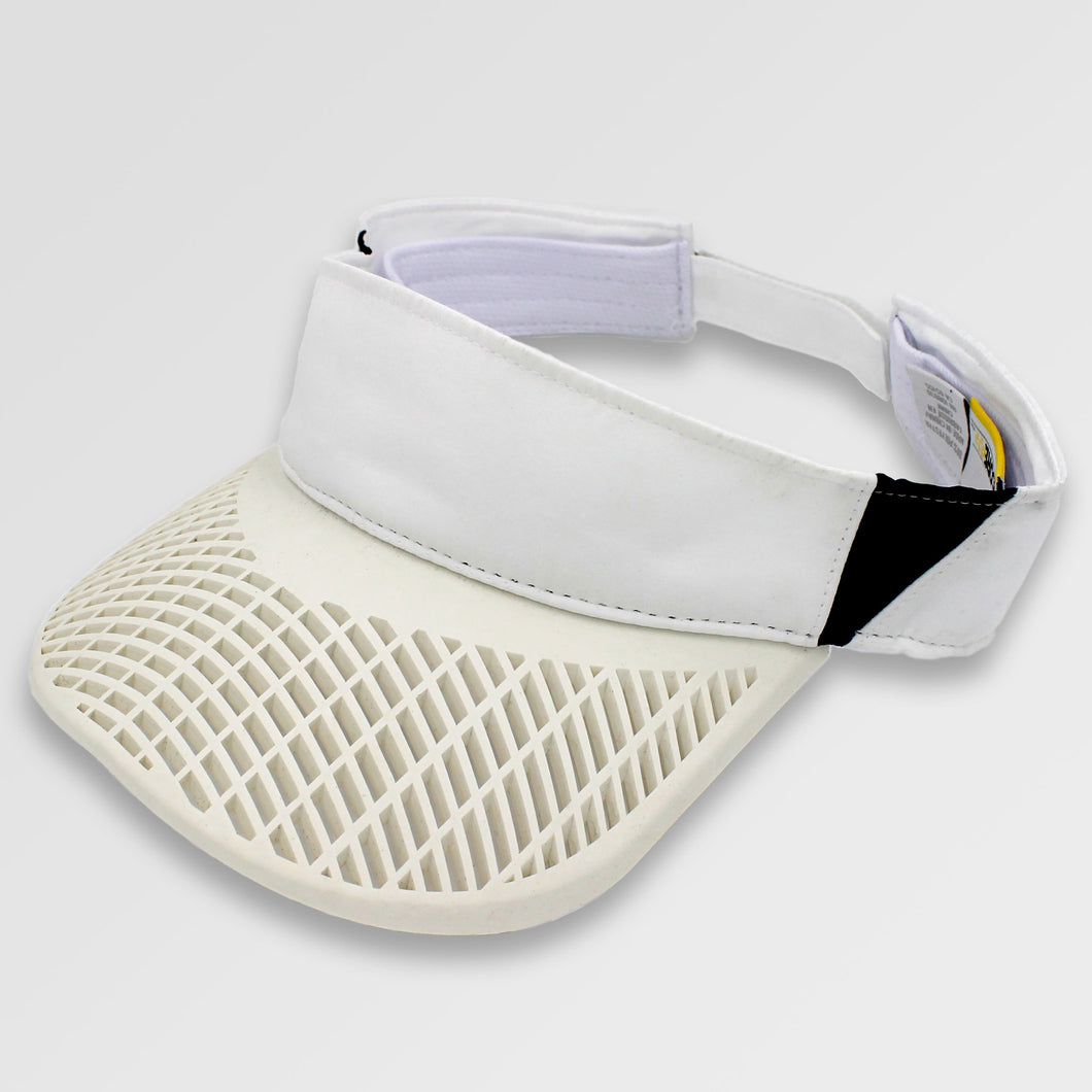Elite Performance Visor - White / Black