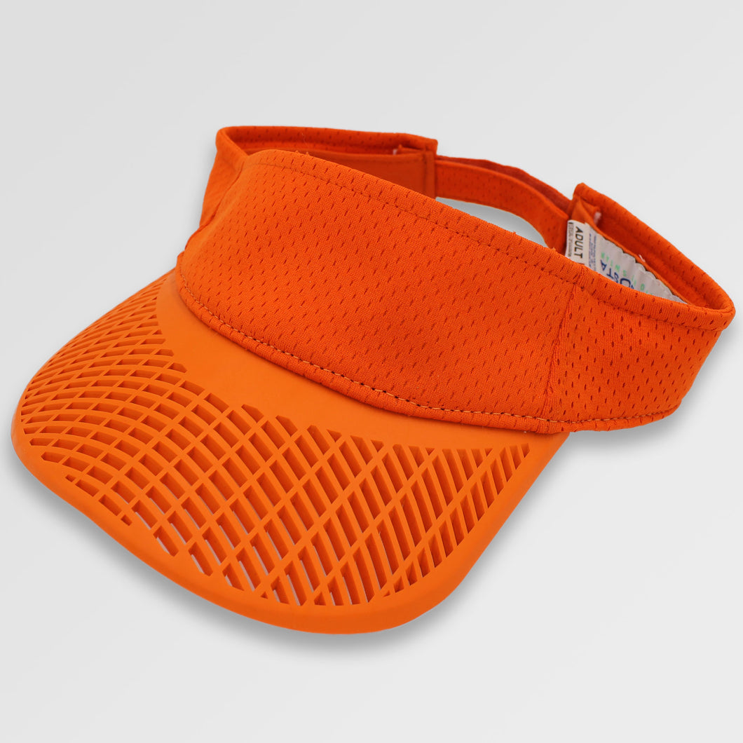 Mesh Performance Visor - Orange