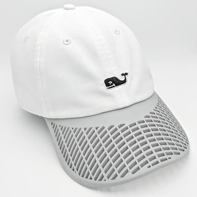 LIMITED EDITION: White Vineyard Vines Boat Brim Hat