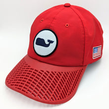 LIMITED EDITION: Red Vineyard Vines Whale Dot Performance Hat