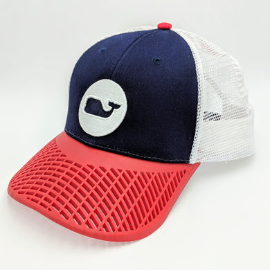 LIMITED EDITION: Vineyard Vines Red, White, and Blue Trucker Hat