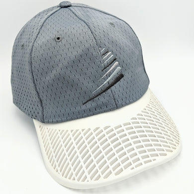 Performance Sail Swoosh Hat - Grey with White Brim