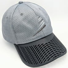 Performance Sail Swoosh Hat - Grey with Charcoal Brim