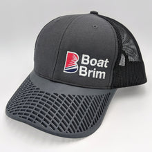 Boat Brim Trucker Hat - Charcoal