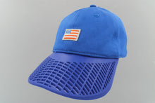 Small American Flag Hat - Blue Brim
