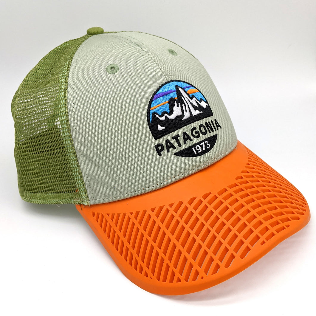 LIMITED EDITION: Patagonia Orange Brim Trucker Hat