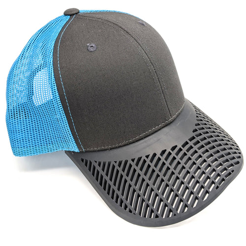 Sky Blue & Charcoal Trucker Hat