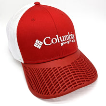 LIMITED EDITION: Columbia PFG Mesh Fitted Hat, Red Brim