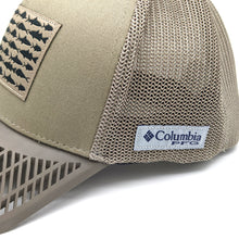 LIMITED EDITION: Columbia PFG Fitted Flag Hat, Brown Brim