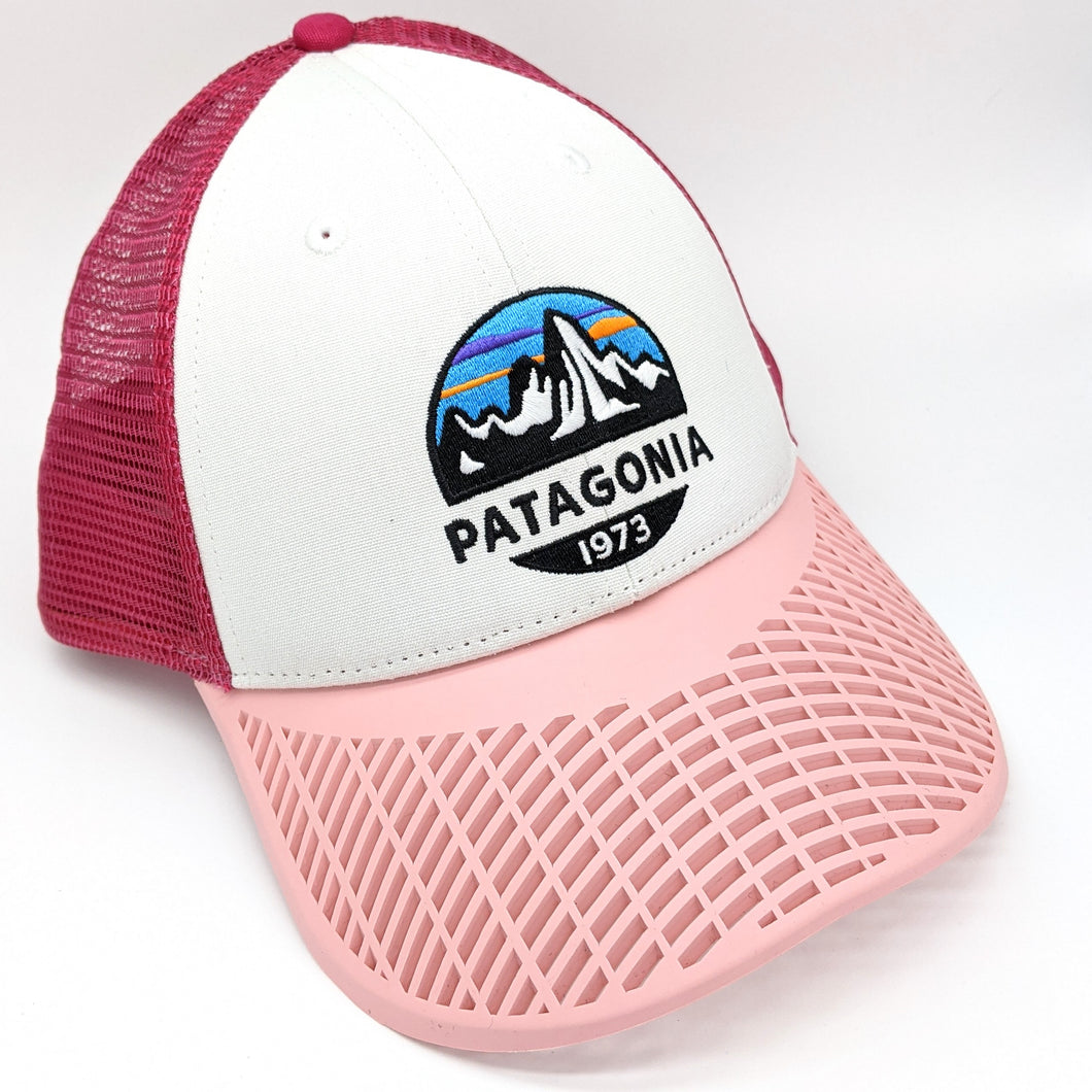 LIMITED EDITION: Patagonia Ladies Pink Brim Trucker Hat