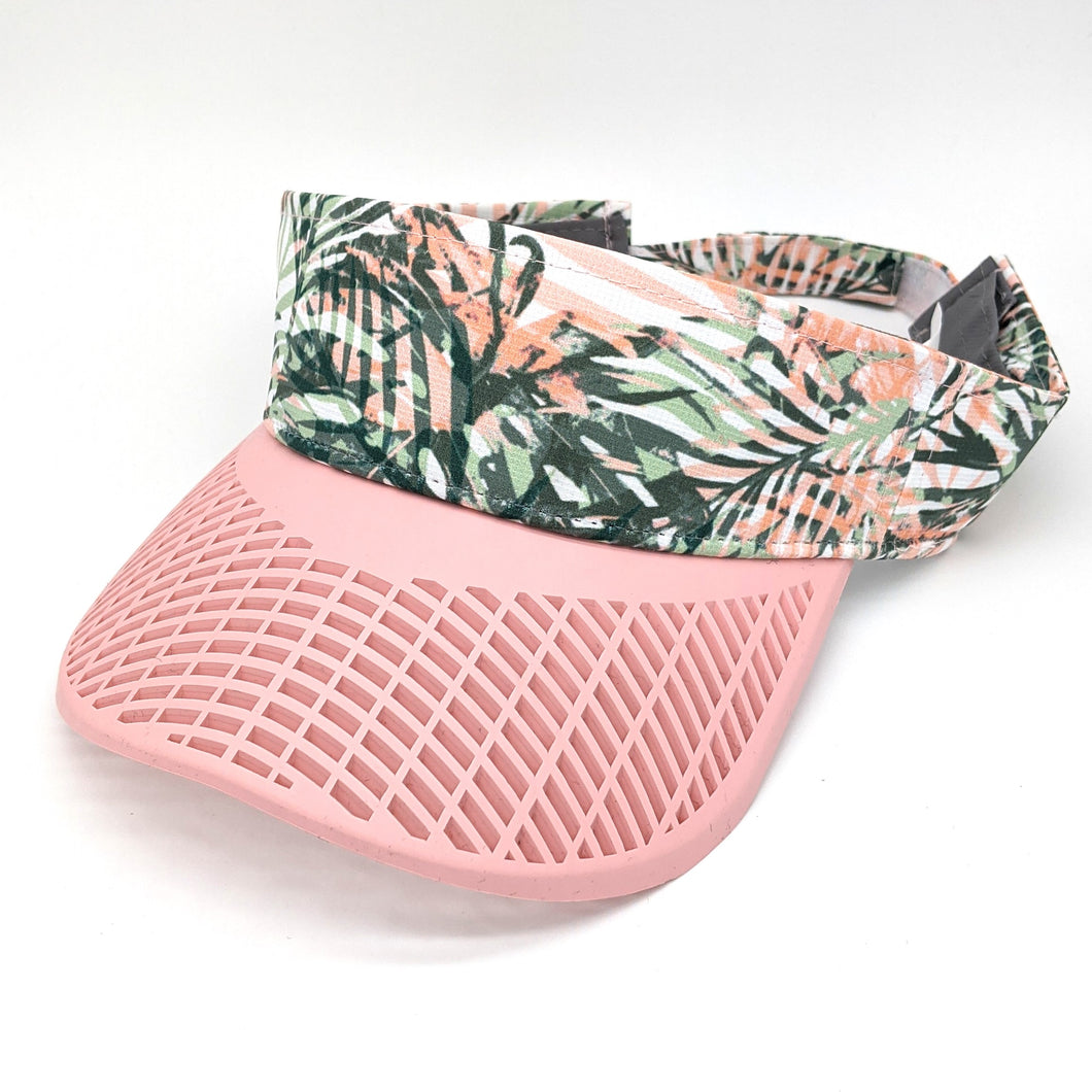Elite Performance Ladies Visor - Island Pink
