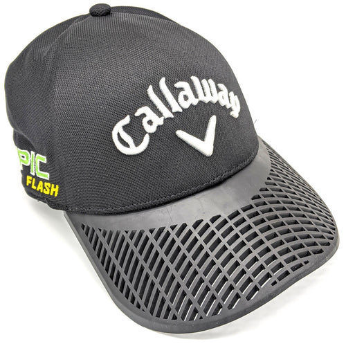 LIMITED EDITION: Callaway Odyssey Black Fitted Golf Hat