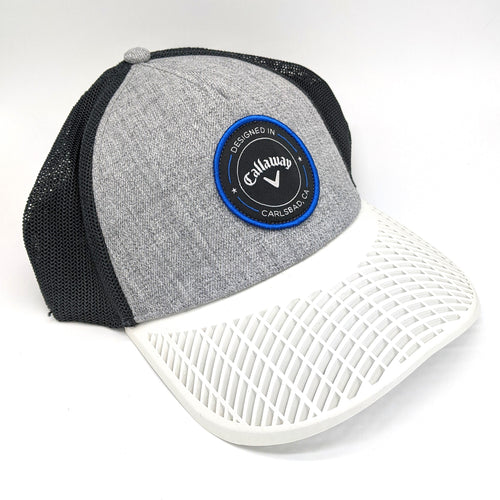 LIMITED EDITION: Callaway Golf Trucker Hat with White Brim