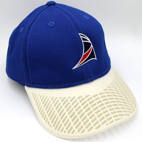 Sail Hat - Blue with White Brim