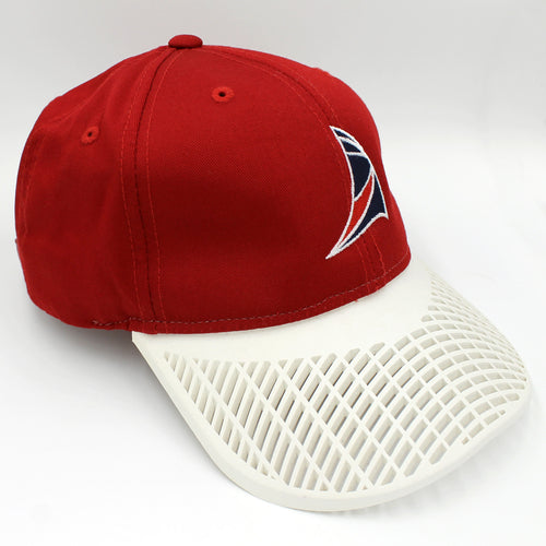 Sail Hat - Red with White Brim