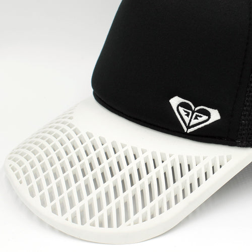 LIMITED EDITION - BB Sports: Roxy Black & White Surfer Hat