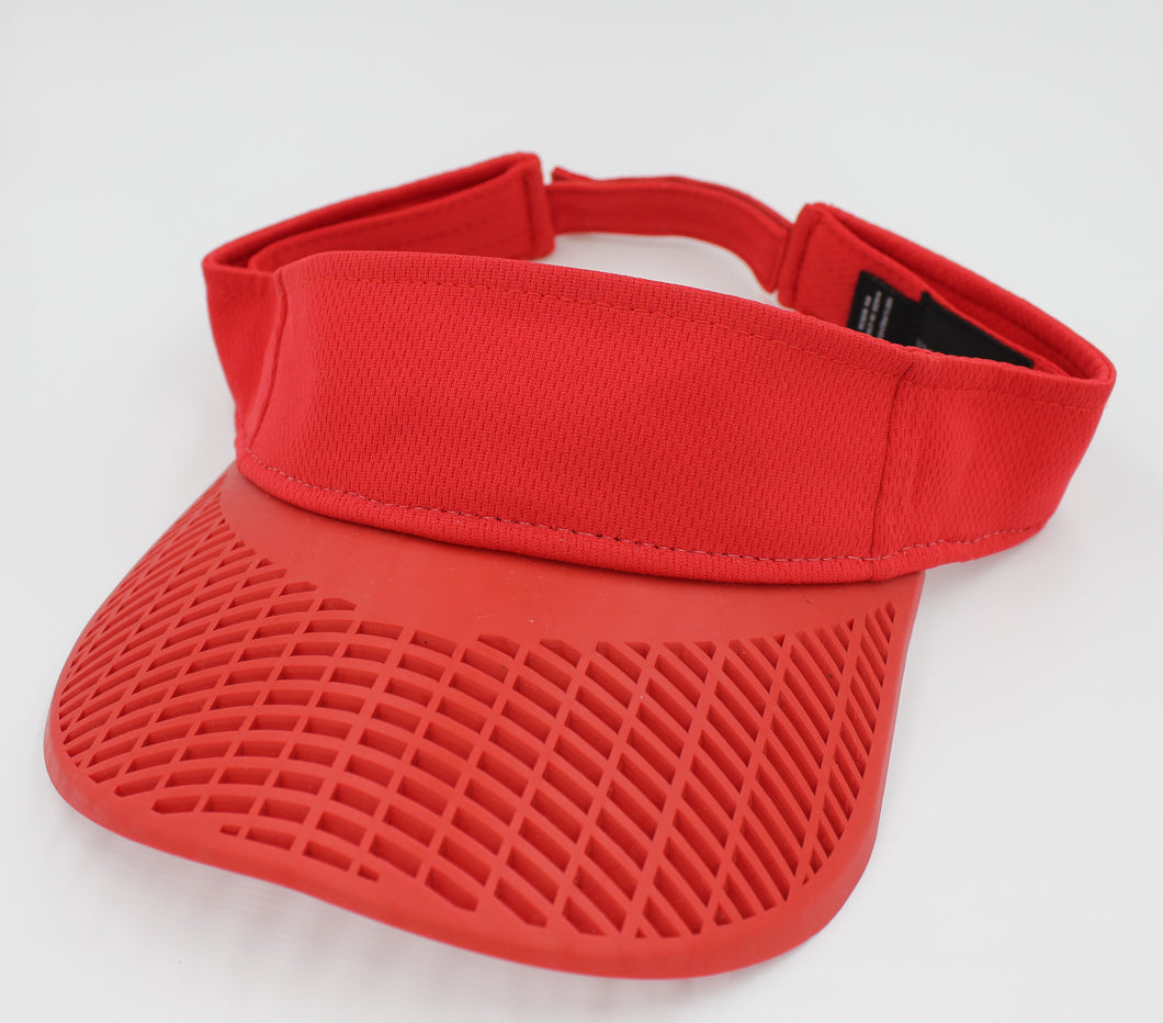 Standard Performance Visor - Red