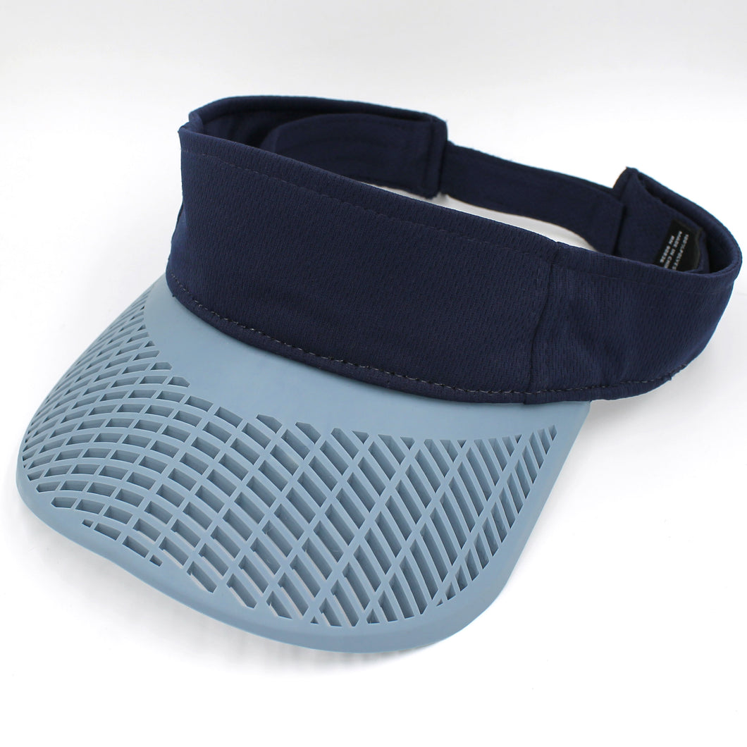 Performance Navy Visor w/ Cool Blue Brim
