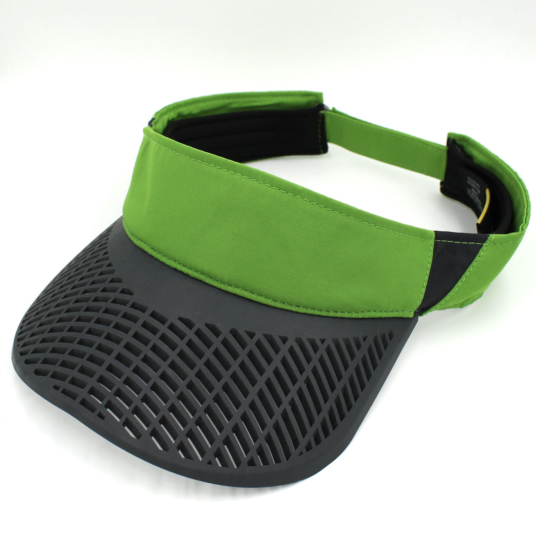 Elite Performance Visor - Elite Performance Visor - Green w/ Black Brim