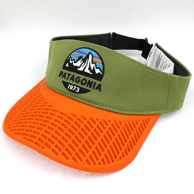 LIMITED EDITION: Patagonia Orange Brim Visor