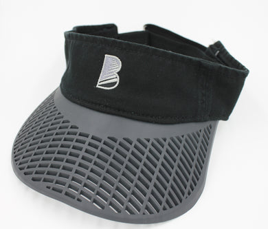 Casual Visor - Black w/ Charcoal Brim