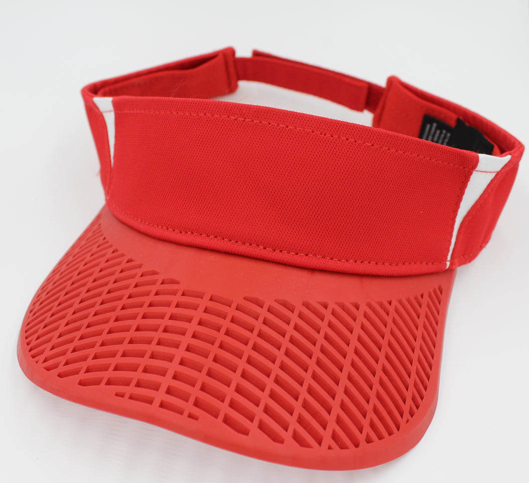 Elite Performance Visor - Red / White