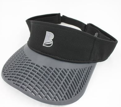 Standard Performance Visor - Black w/ Charcoal Brim