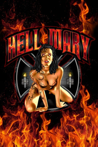 "Hell Mary - 24"" X 36"" Photo paper poster -Seymore Beaver"