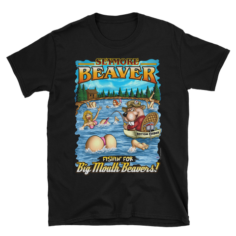 Seymore Beaver - Big Mouth Beavers (Front Print) Short-Sleeve Unisex T-Shirt