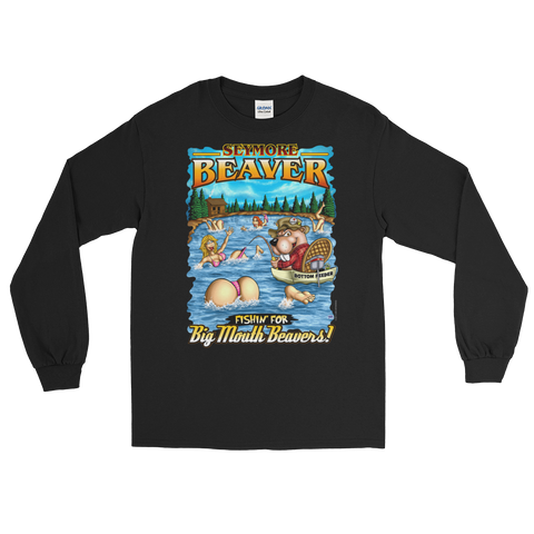 Seymore Beaver - Big Mouth Beavers (Front Print) Long Sleeve T-Shirt