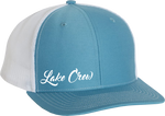 Cursive Snapback - Light Blue