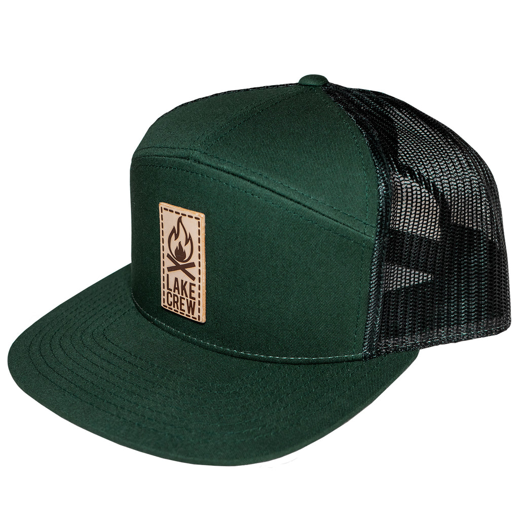 LTHR Snapback - Forest Green/Black