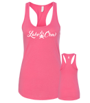 Cursive Tank Top - Womens