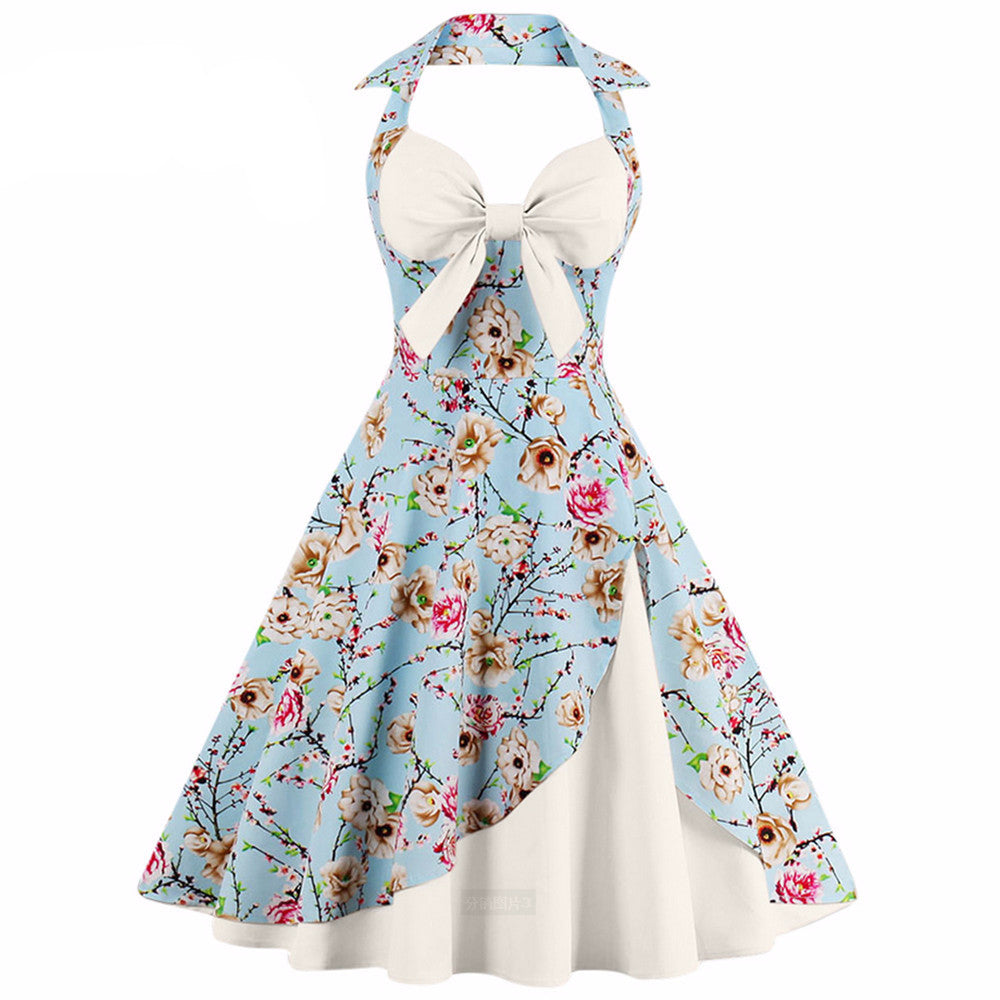 THE Housewife Floral Vintage Dress