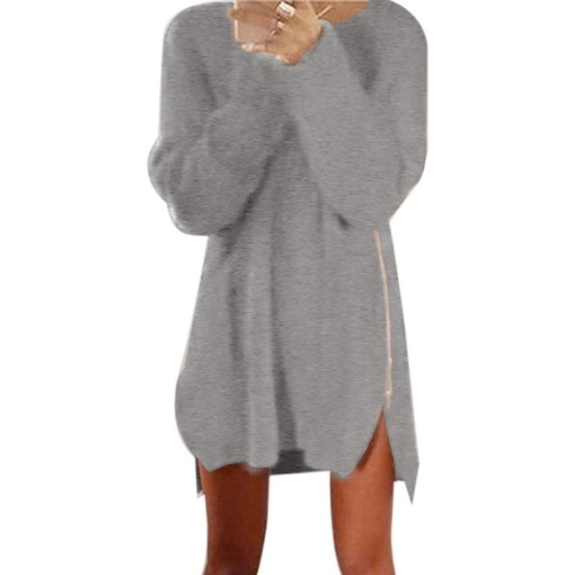 Cuddle Me Up Sweater Dress