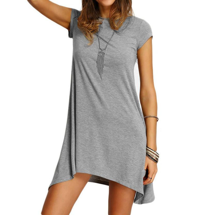 Lazy Lounging Casual Dress