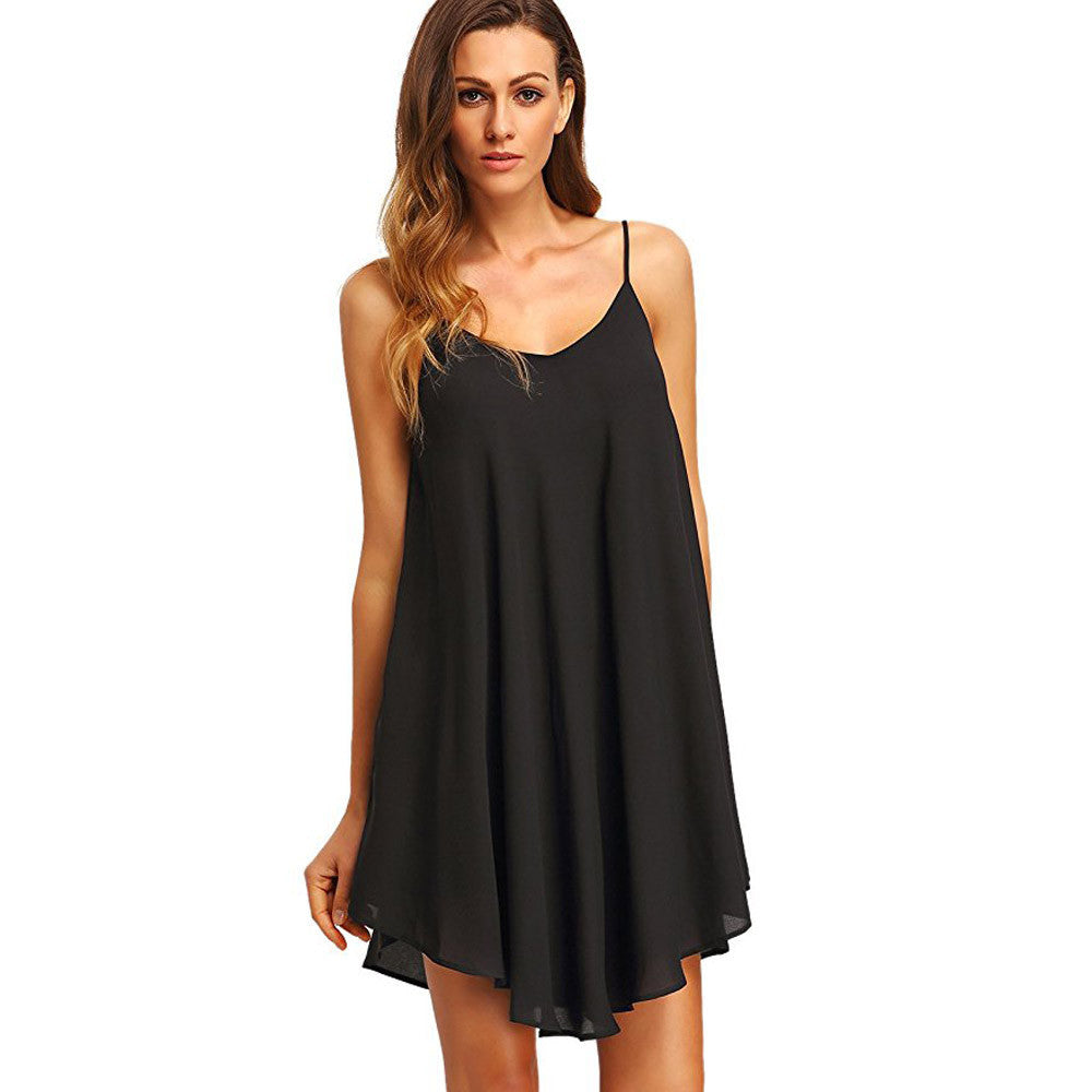 Chiffon Flow Babydoll Dress