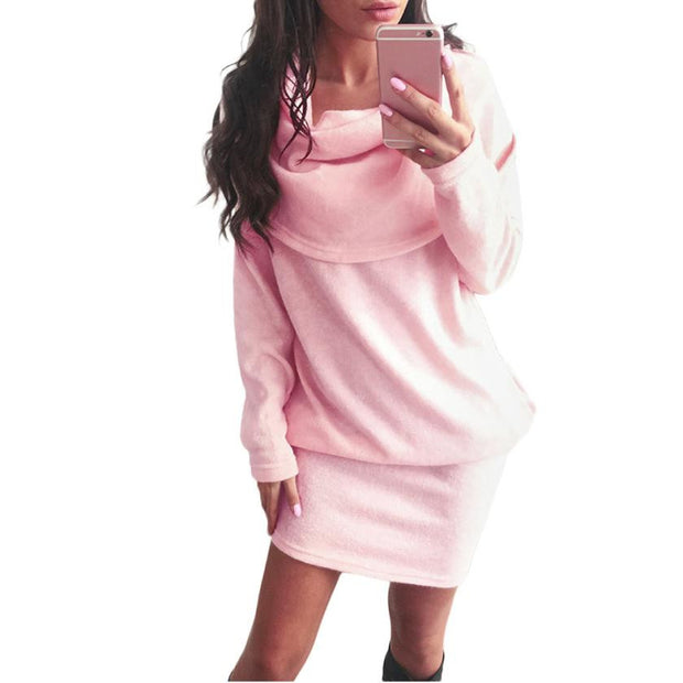 Keep Me Warm Bodycon Mini Dress