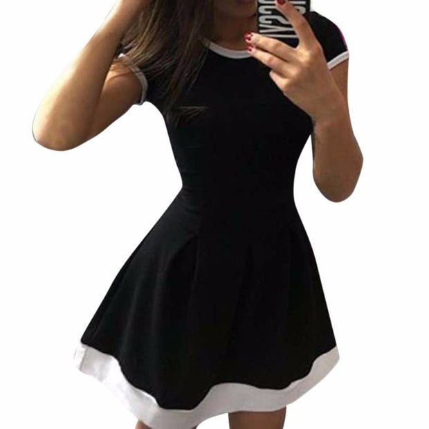Basic Pop Babydoll Dress