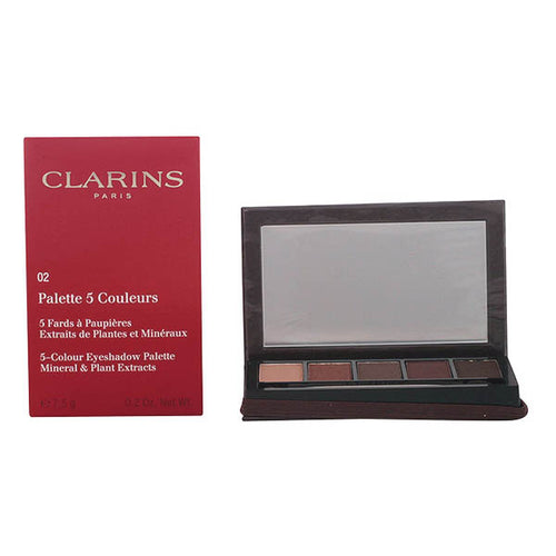 Clarins - PALETTE YEUX 5 couleurs 02-pretty night 7,5 gr - Beautyscarlett Beauty Warehouse