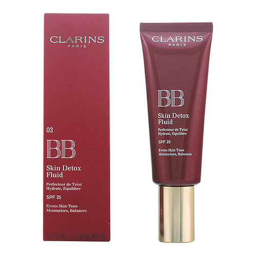 Clarins - BB SKIN DETOX fluid SPF25 03-dark 45 mlSkin Moisturiser - Beautyscarlett Beauty Warehouse