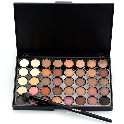40 Colour Matte Eye Shadow Makeup SetEyeshadow Pallette - Beautyscarlett Beauty Warehouse