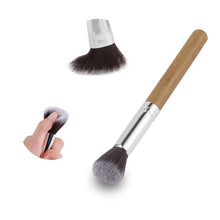 11pce Natural Bamboo Makeup Brush SetMake Up Brushes - Beautyscarlett Beauty Warehouse