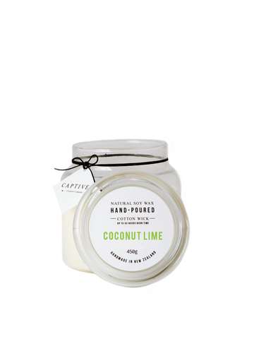 Coconut Lime Cotton Wick