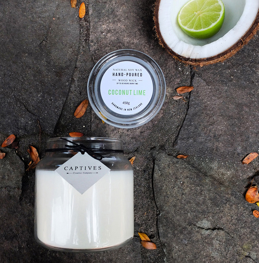 Coconut Lime Wood Wick