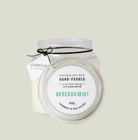 Avocado Mint Cotton Wick