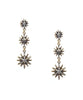 Starburst Drop Earrings