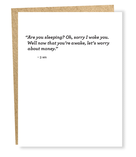Almost Famous Card - 3am