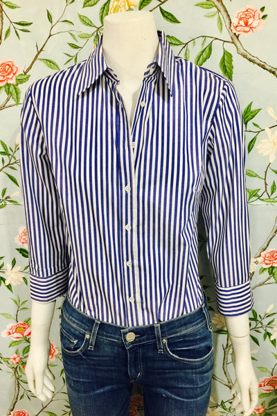 Brooks Shirt - Blue/White stripe