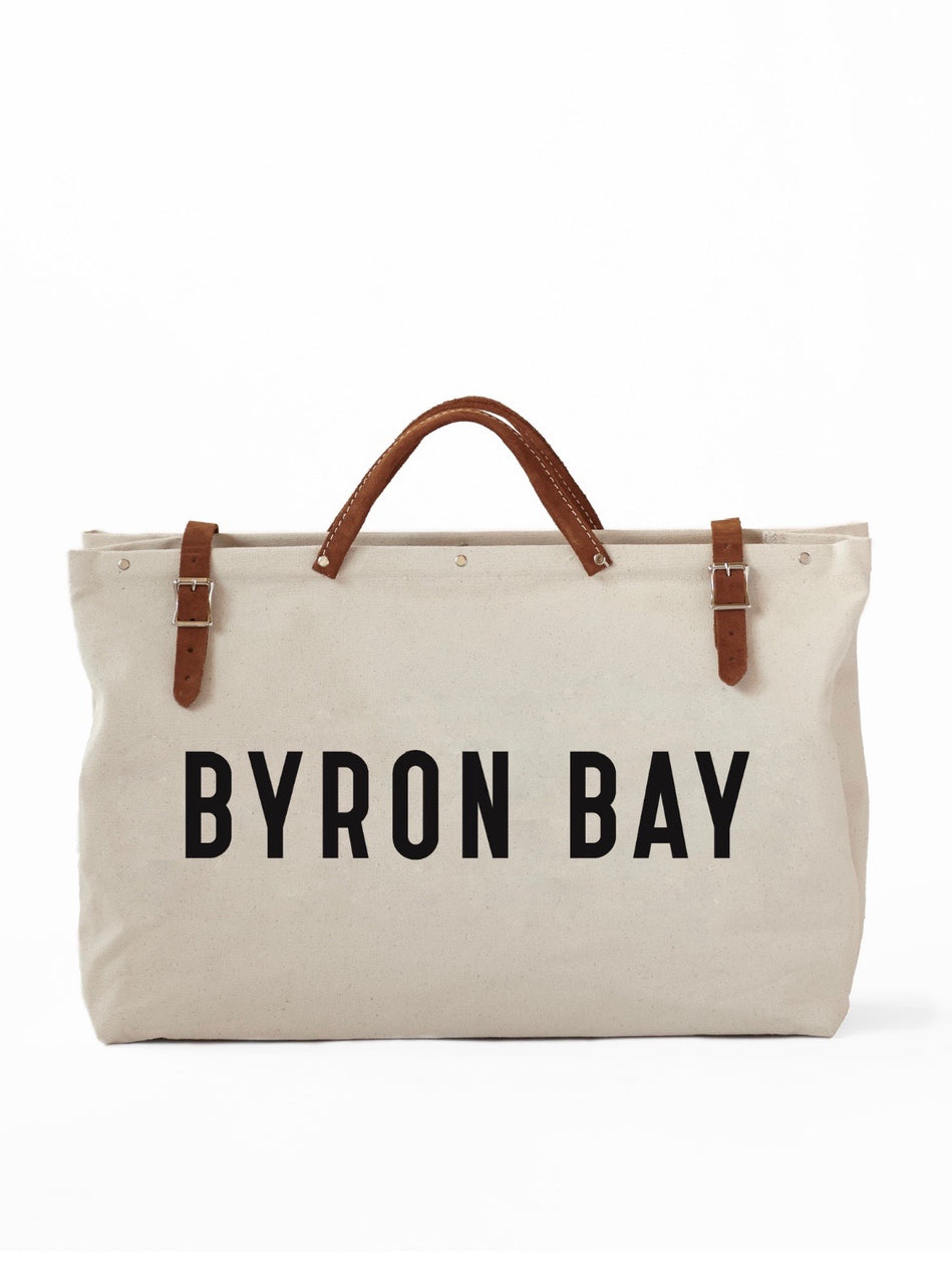 Canvas Utility Bag - BYRON BAY
